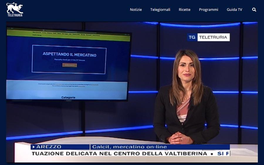 Aspettando il Meratino Calcit Arezzo su Teletruria febbraio 2021