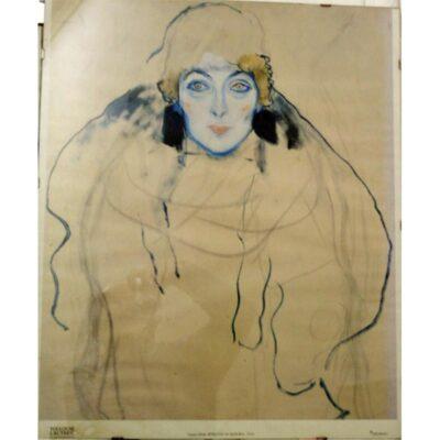 """""""Ritratto di signora"""" di Toulouse Lautrec, stampa, 50x70 cm."""